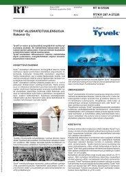RT N-37226/ RT/KH 387.4-37226 Tyvek-aluskate ... - Taloon.com