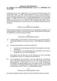 Satzung der Stadt Geilenkirchen zur Erhebung von ...