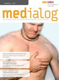 Ausgabe 1/2010 - Medizinische Fakultät der Martin-Luther ...