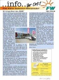 F eie Wähler Seukendorf-Hiltmannsdorf - Freie Wähler Landkreis Fürth