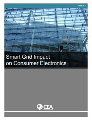 Smart Grid Impact on Consumer Electronics