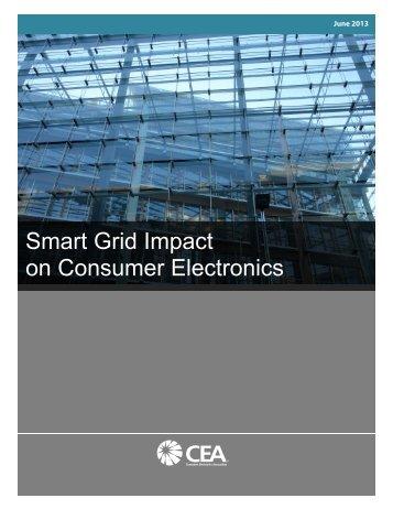 Smart Grid Impact on Consumer Electronics