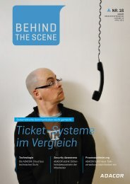 Ticket-Systeme im Vergleich - ADACOR Hosting GmbH