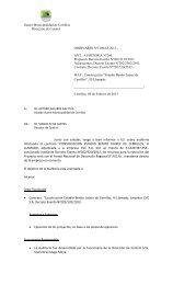 Auditoria 260 - I. Municipalidad de Cerrillos