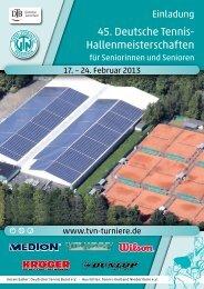 Einladung DSHM 2013 - TVN Turniere