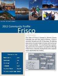 Frisco Community Profile