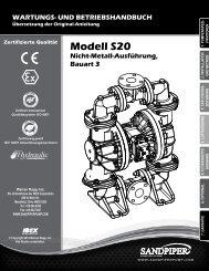 Modell S20 Nicht-Metall-Ausführung, Bauart 3