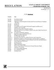 2000: Program - LEAP Academy University Charter School