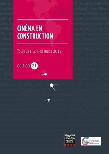 CINÉMA EN CONSTRUCTION - Isabelle Buron
