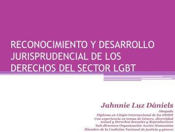reconocimiento y desarrollo jurisprudencial de los ... - Corcaribe