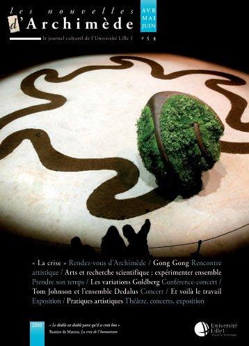 les nouvelles d'Archimède #43 - Espace culture de l'université de ...