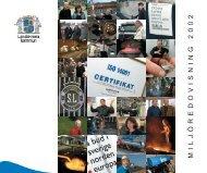 Ladda ner Miljöredovisningen för 2002 - Landskrona kommun