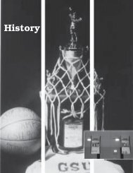 06-07 WBB History - Georgia State University Athletics