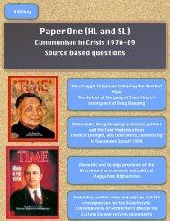 IB History open evening final version