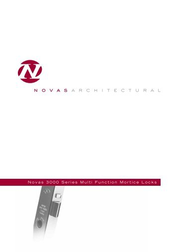 Novas 3000 Series Multi Function Mortice Locks