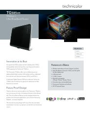DS _Technicolor_TG585vn.pdf - Marcom Telecoms Home page