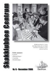 Klubblad nr. 6/2006 - Skakklubben Centrum