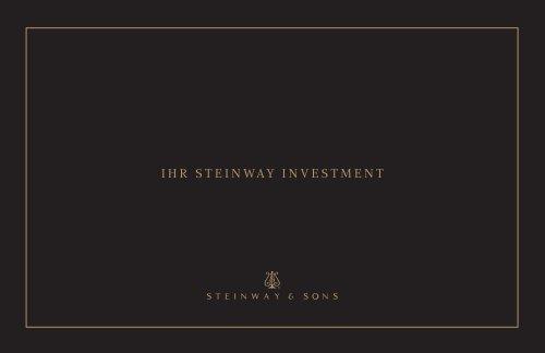 IHR steInway Investment - Steinway & Sons
