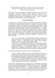 A TASZ 2013. május 18-án dr. Cser-Palkovics András, Gulyás ...