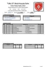 SpielplanDamen 2012 - Sportverein SV Eiche Ostrhauderfehn