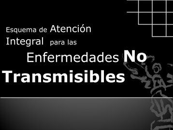 Transmisibles - Gobierno del Distrito Federal