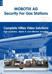 MOBOTIX AG Security For Gas Stations
