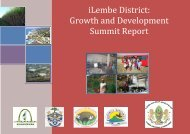 iLembe District: Growth and Development Summit Report