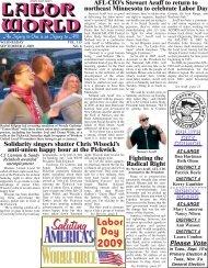 September 2, 2009 - Labor World