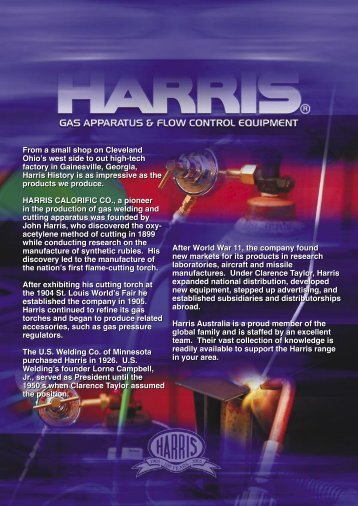 Harris Cat 06 .indd - Harris Products Group