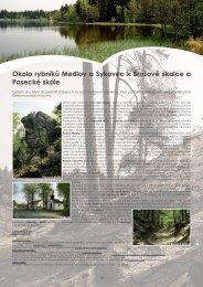 Okolo rybníků Medlov a Sykovec k Brožově skalce a ... - Extranet
