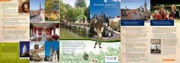 Imagebroschüre Altenburg - Altenburg Tourismus