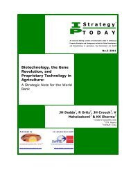 Strategy T O D A Y - National Center for Genetic Engineering and ...