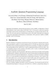 Scaffold: Quantum Programming Language - EPIQ