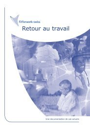 Retour au travail - fit for work