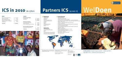 In dit nummer: ICS kijkt terug en vooruit | Pijlers van ICS ... - CBF