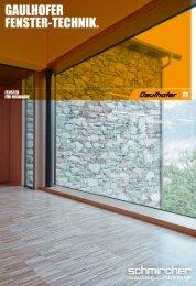 PDF: Gaulhofer Fenster – Technikguid 2013