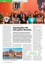 Wolff Ost-Reisen: Impulsgeber für eine ganze Branche - Busmagazin