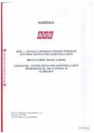 ZMR25_2011_Nabídka-AVE CZ.pdf - E-ZAK SUKL - Státní ústav pro ...