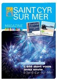 Télécharger le 9 ème numéro-Eté 2011 - Mairie de Saint Cyr sur Mer