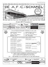 12 november 2008 87e jaargang nummer 4 - AFC, Amsterdam
