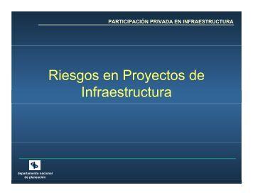 Riesgos en Proyectos de Infraestructura - Alide