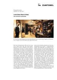 Levi's Green Store in Paris