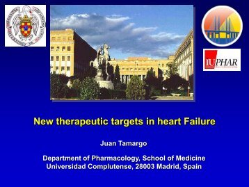 New therapeutic targets in heart failure - WorldPharma 2010