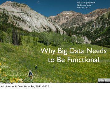 Why Big Data Needs to Be Functional - Polyglot Programming