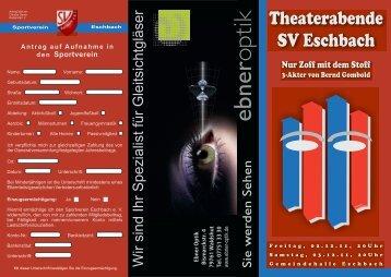 THEATER_FLYER 11.cdr - SV Eschbach