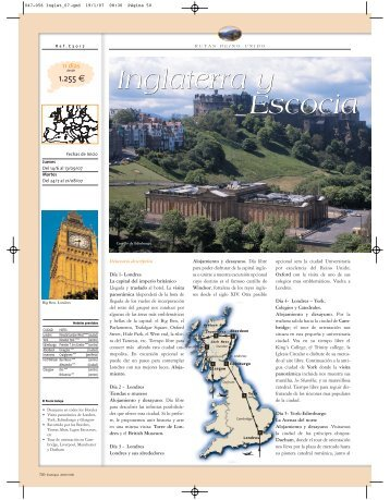 Inglaterra y Escocia Inglaterra y Escocia - ABTOUR Viajes