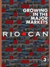 3rd Quarter Report to Unitholders (PDF 836 KB) - RioCan
