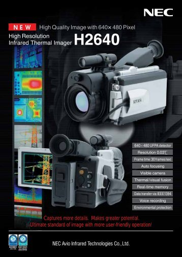 High Resolution Infrared Thermal Imager