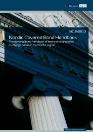 Nordic Covered Bond Handbook 2012/2013 - Danske Analyse ...