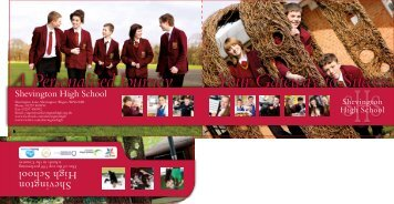 Prospectus - Shevington High School